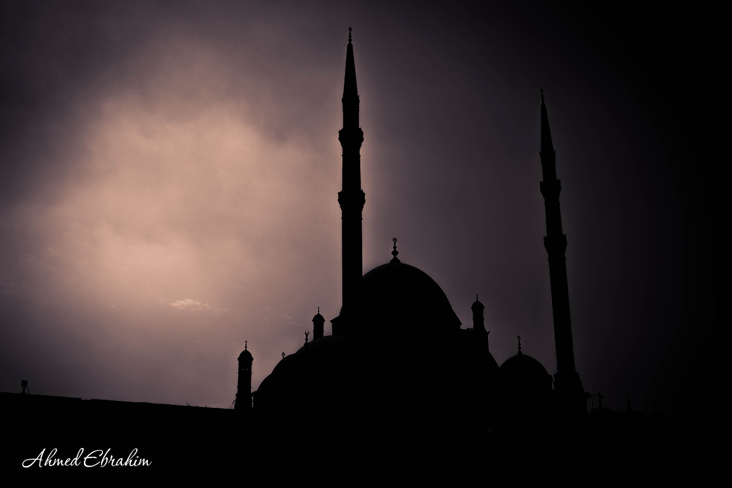 Photograph Citadel - silhouette by Ahmed Ebrahim on 500px