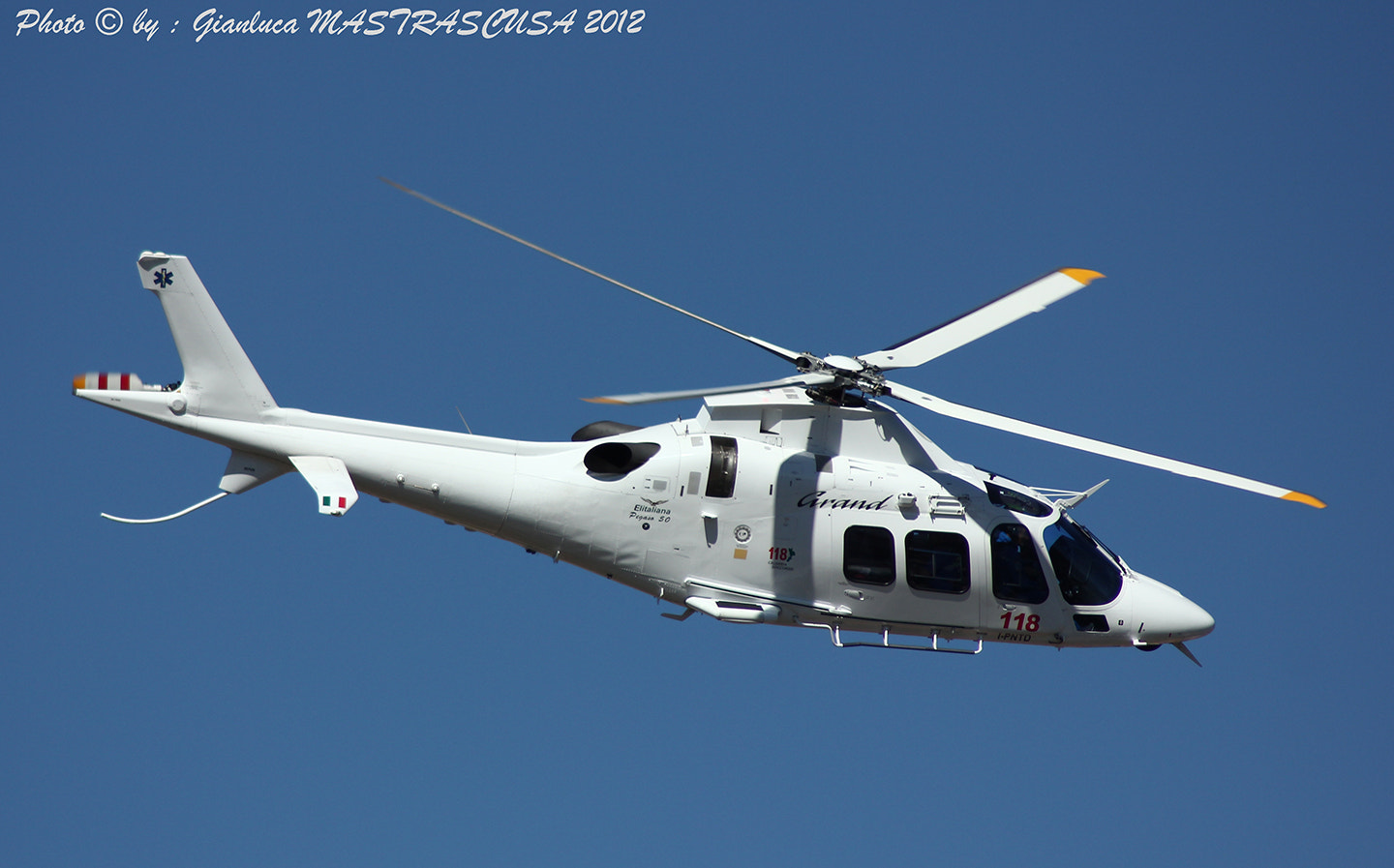 Photograph Agusta Westland AW109S Grand I-PNTD by Gianluca Mastrascusa on 500px