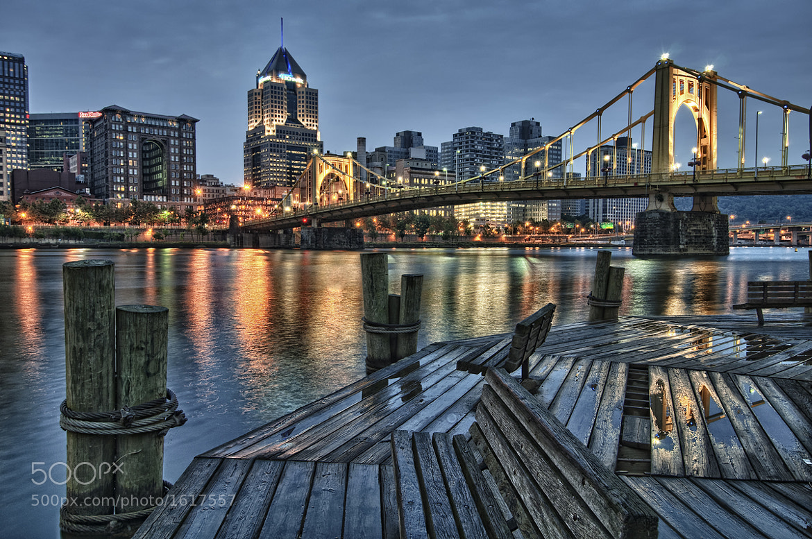 Photograph Pittsburgh in HDR by Peter Talke Photography on 500px