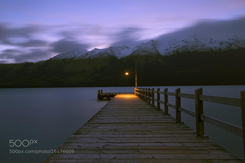 Photograph Nightfall on a Pier  by Budiman Cengko on 500px