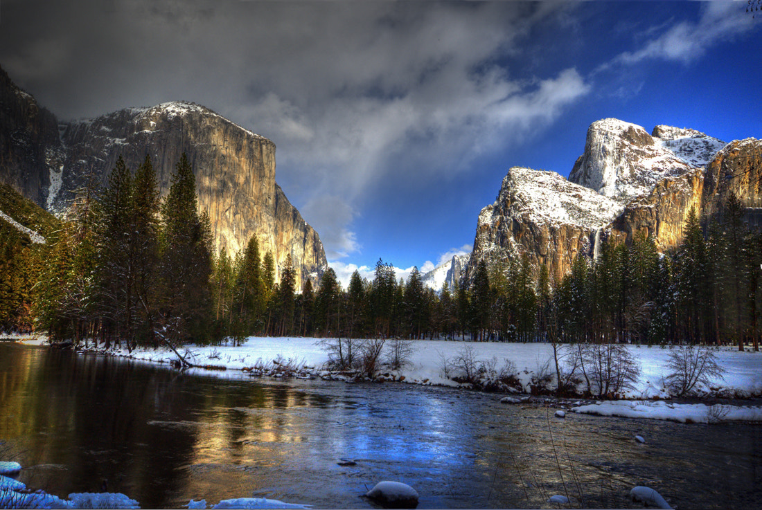 Photograph Yosemite Valley View In Winter by William McIntosh on 500px