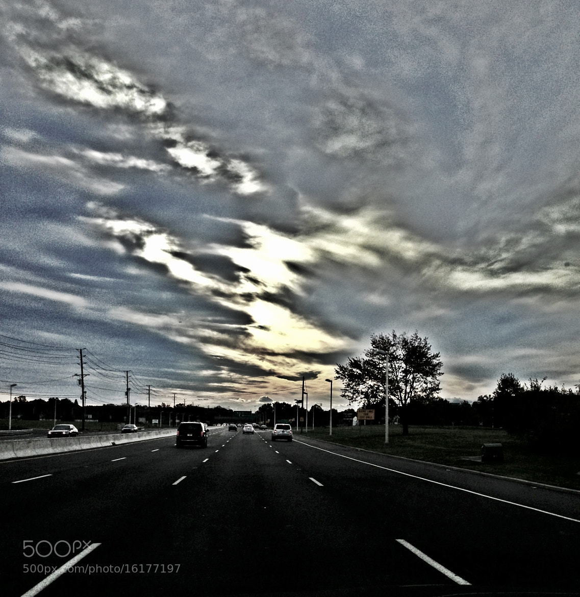 Photograph On the Road with my iPhone 4S by Arun Kumar Duddilla on 500px