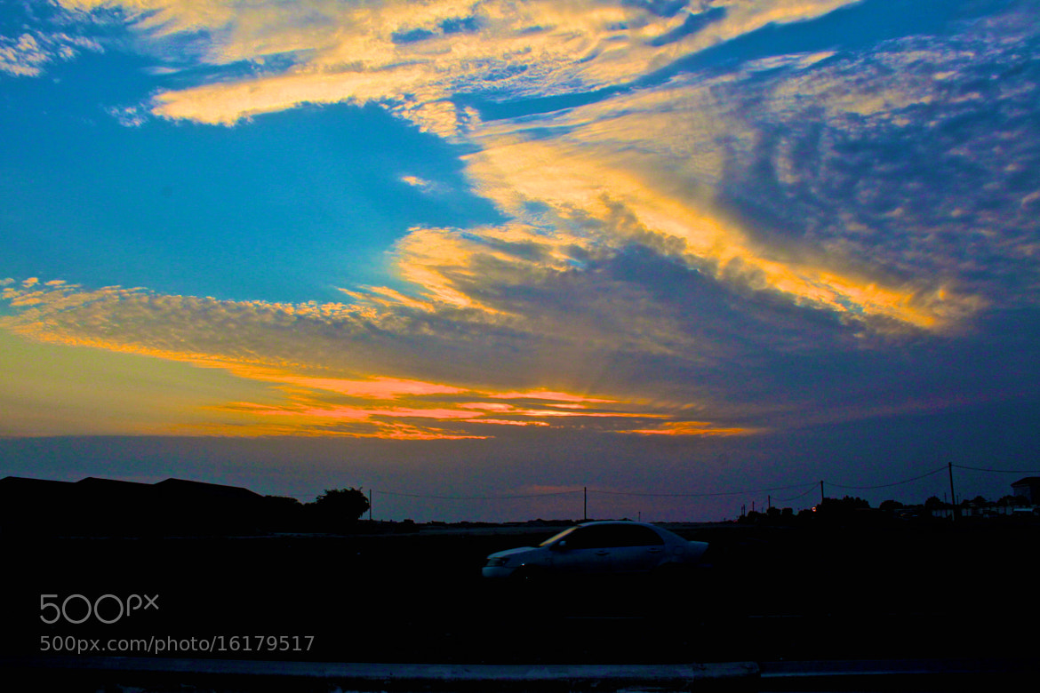 Photograph Sunset, Clouds, & Sky. Nothing better by Mohammed Gerashi on 500px
