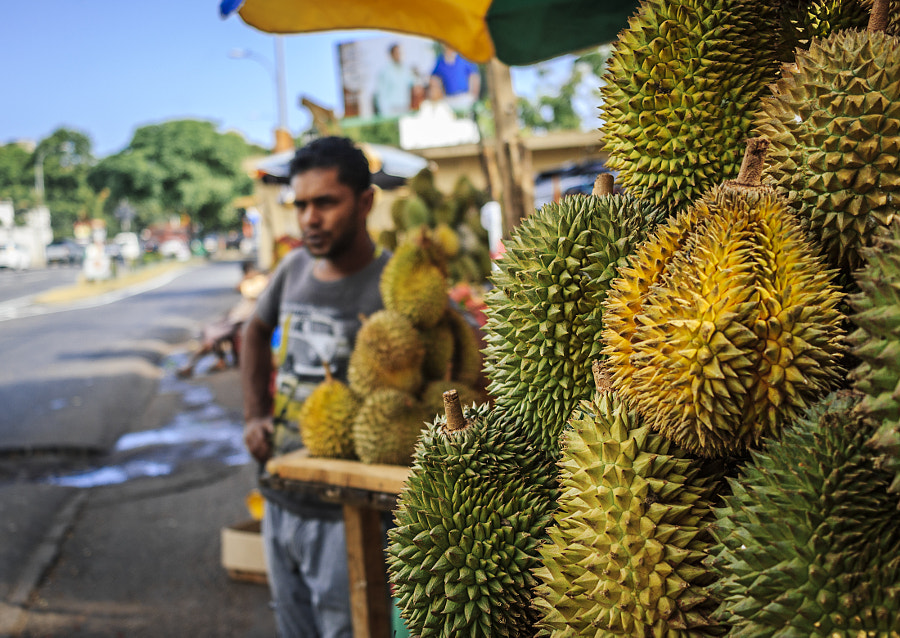 Roadside Durian by Son of the Morning Light on 500px.com
