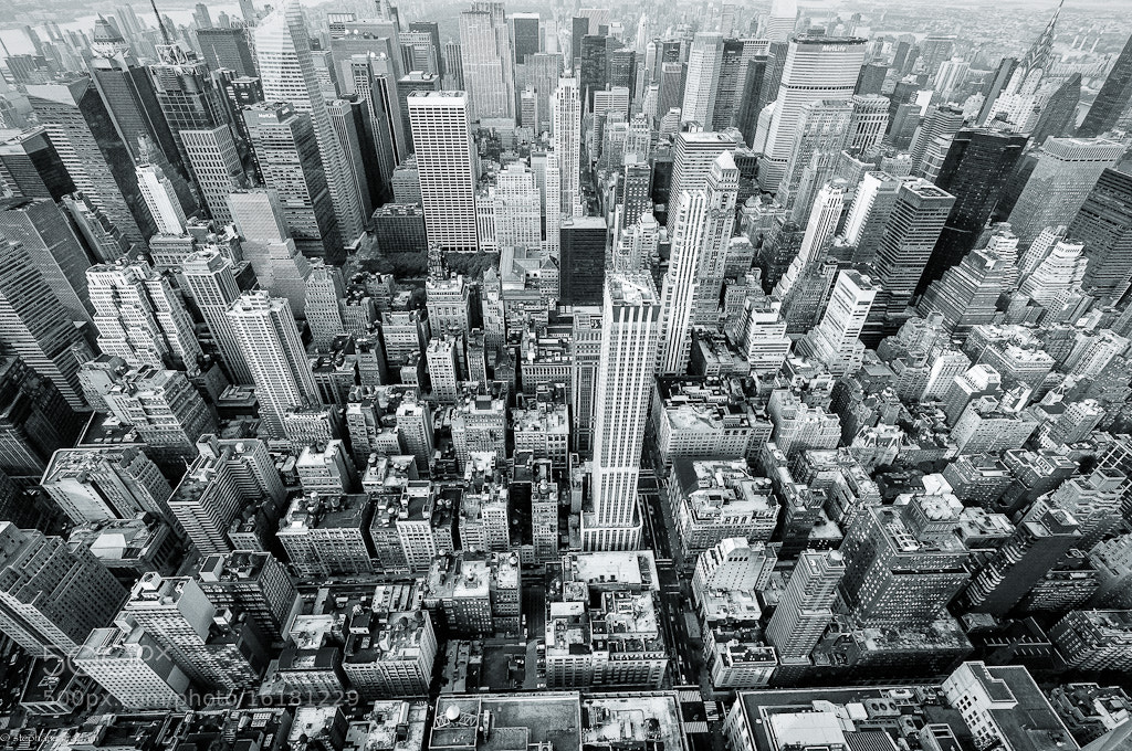 Photograph new york from above by Stephane Graziani on 500px