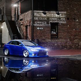 Canibeat Feature: Mark's Evo X on Rotiforms