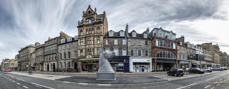 George Street panorama