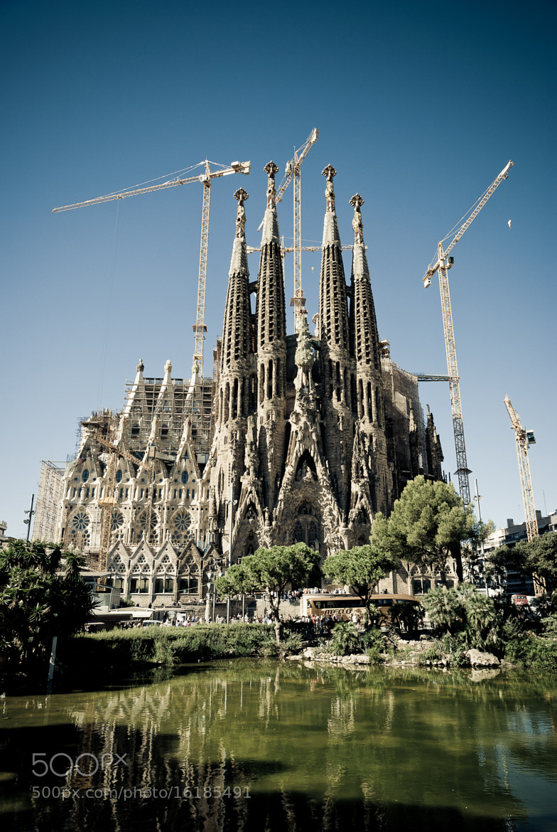 Photograph Temple Expiatori de la Sagrada Família by Dima Stukalov on 500px