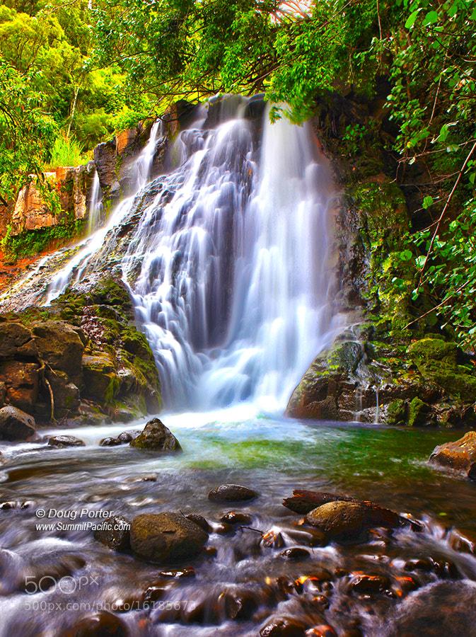 Photograph Hoopii Falls by Doug Porter on 500px