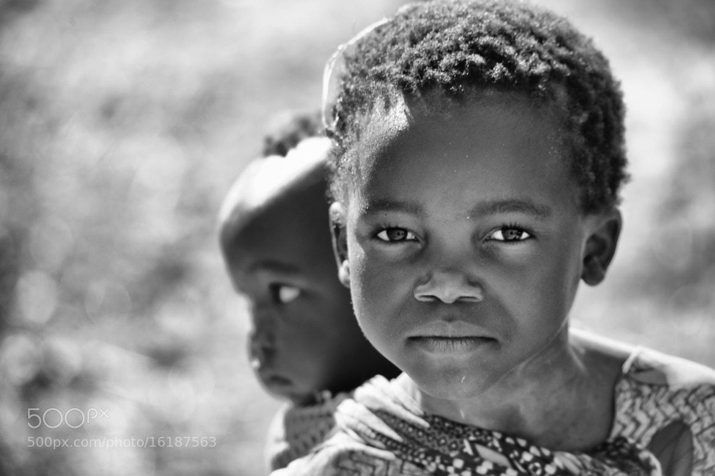 Photograph Zambian Portrait by Nicole Cambré on 500px