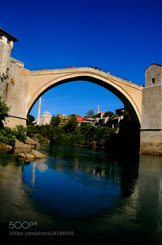 Photograph Mostar- Old Bridge Bosnien & Hercegovina by Emir  Terovic on 500px