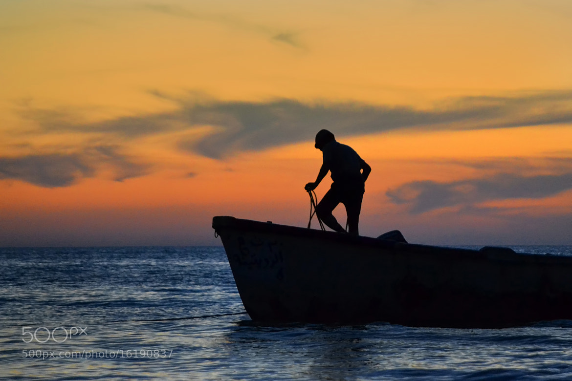Photograph The Fisherman by Adel Esmael on 500px