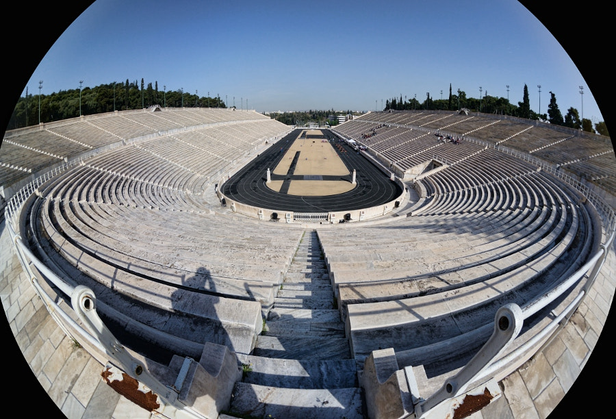 Photograph Panathinaiko Stadium (Athens) by Frank Dürr on 500px