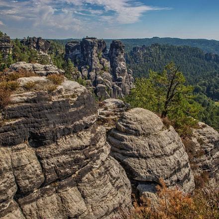 Sächsische Schweiz - im Elbsandsteibgebirge in der