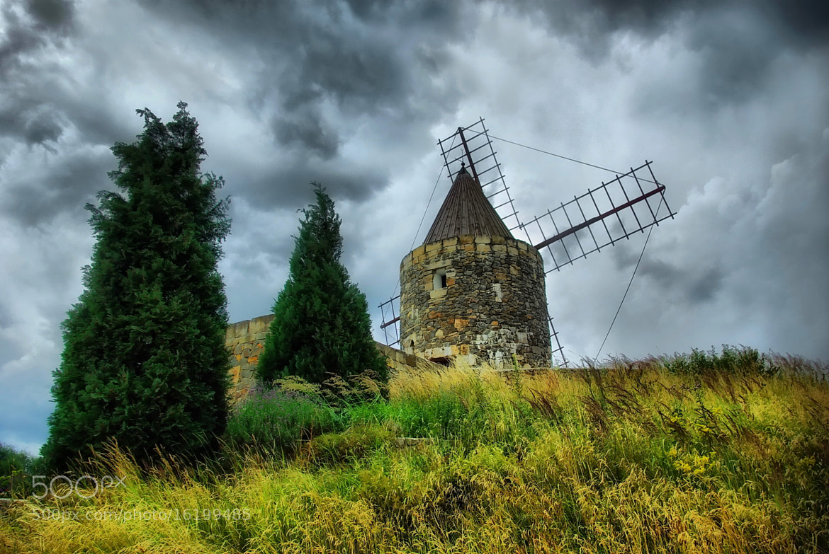 Photograph Dramatic - Mill by Kersten Studenski on 500px