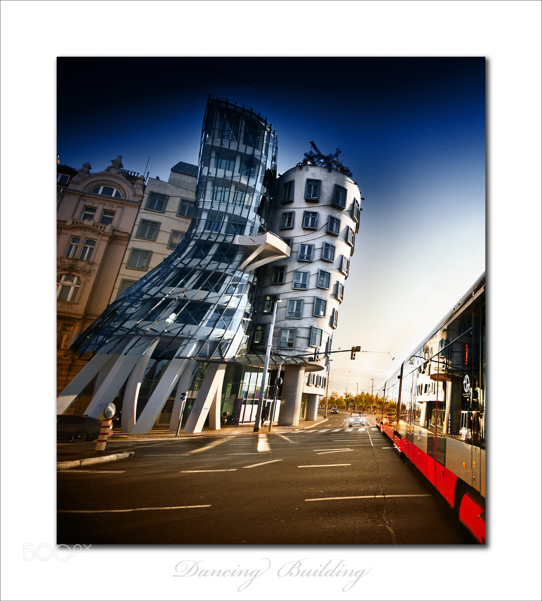 Photograph Dancing house II by David  Pintado on 500px