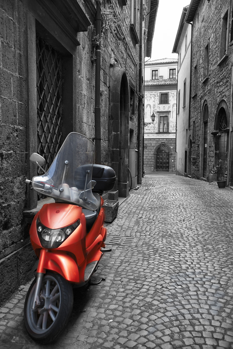 Photograph Motor Scooter in Umbria by Robert Arrington on 500px