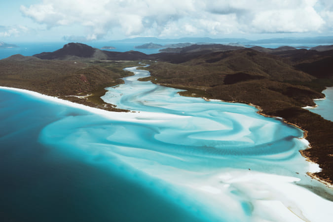 Elevated views over the Whitsundays by Klassy Goldberg on 500px