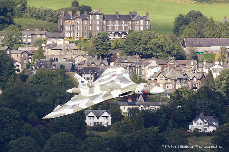 Photograph XH558 Avro 698 Vulcan B2 Windermere Airshow 2011 by Peter J Bailey on 500px