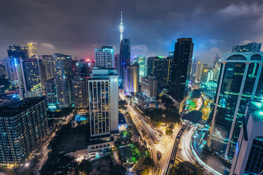 Colours of Kuala Lumpur by Ev Tchebotarev ? on 500px.com