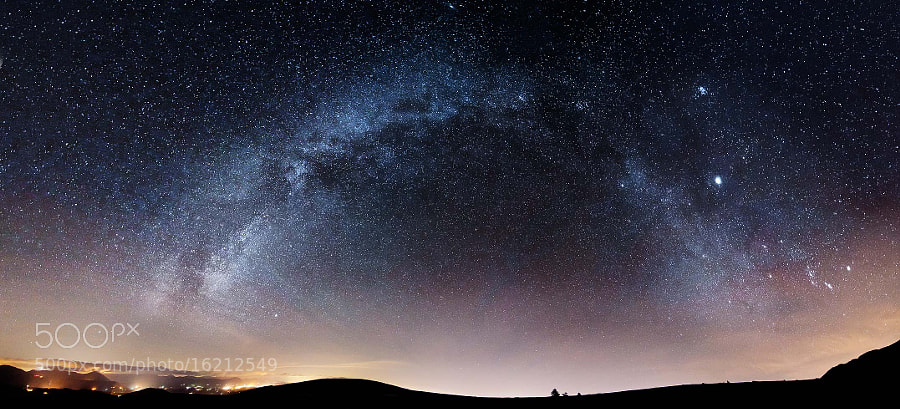 Small Lights in the Galaxy by Stefano  Vita (StefanoVita)) on 500px.com
