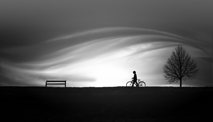 child on bike by nikos Bantouvakis on 500px.com