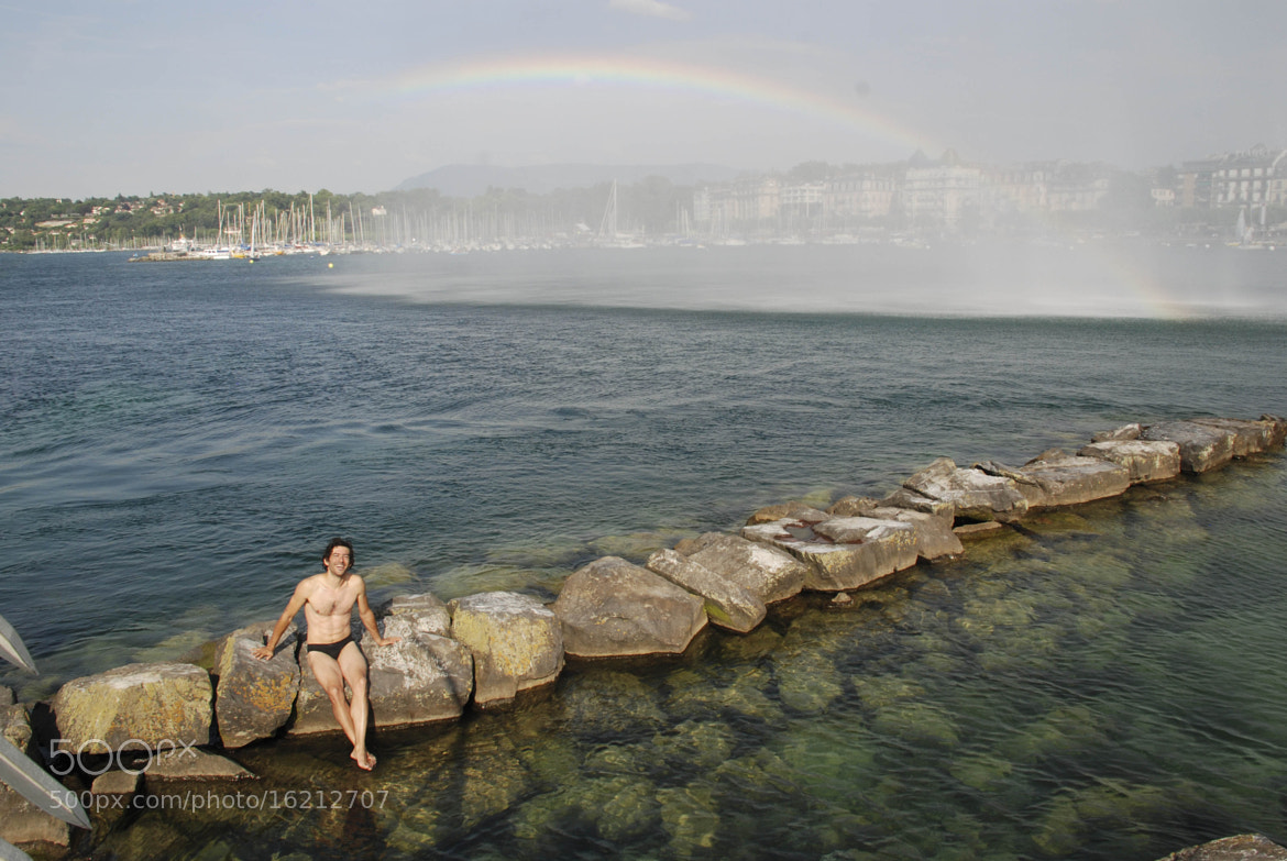 Photograph swimming in the rainbow by Jazi Zilber on 500px