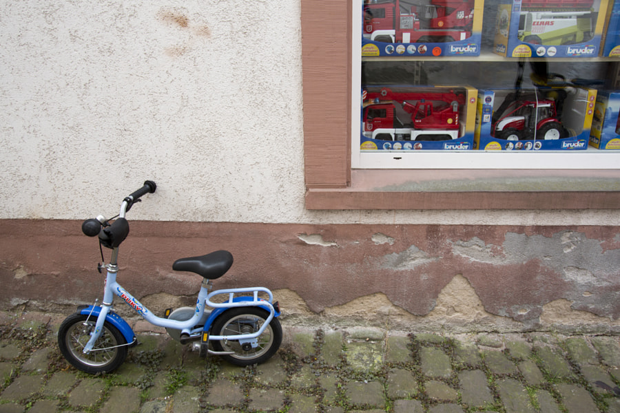 Bicycle and toy shop