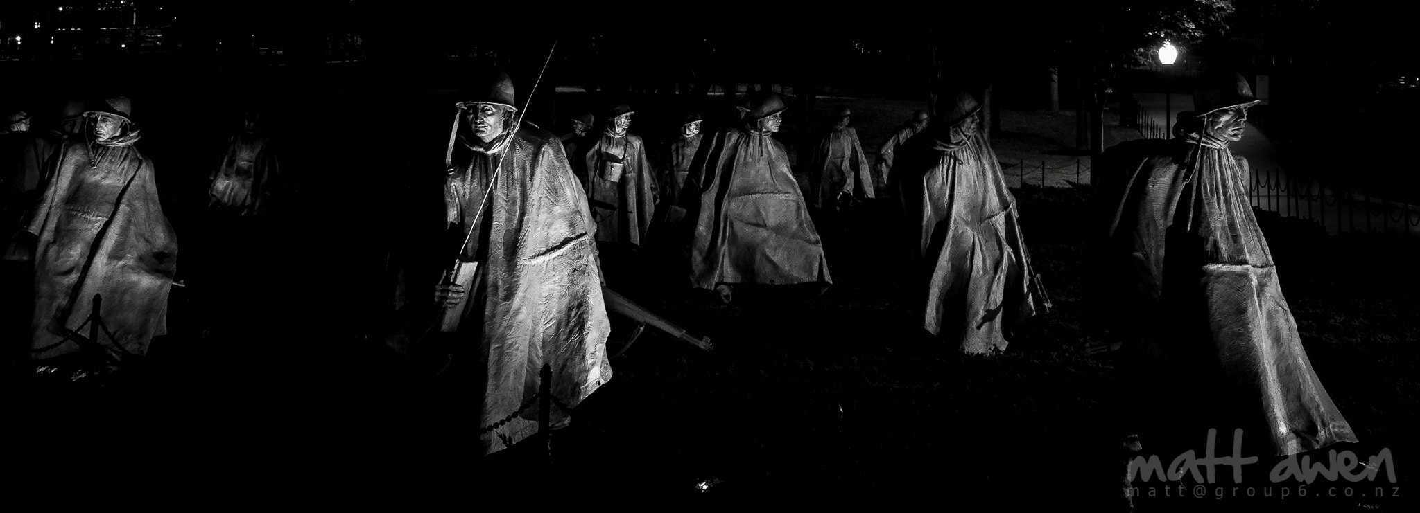 Photograph Korean War Veterans Memorial by Matt Dwen on 500px