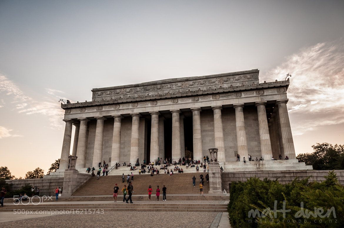 Photograph Lincoln Memorial by Matt Dwen on 500px