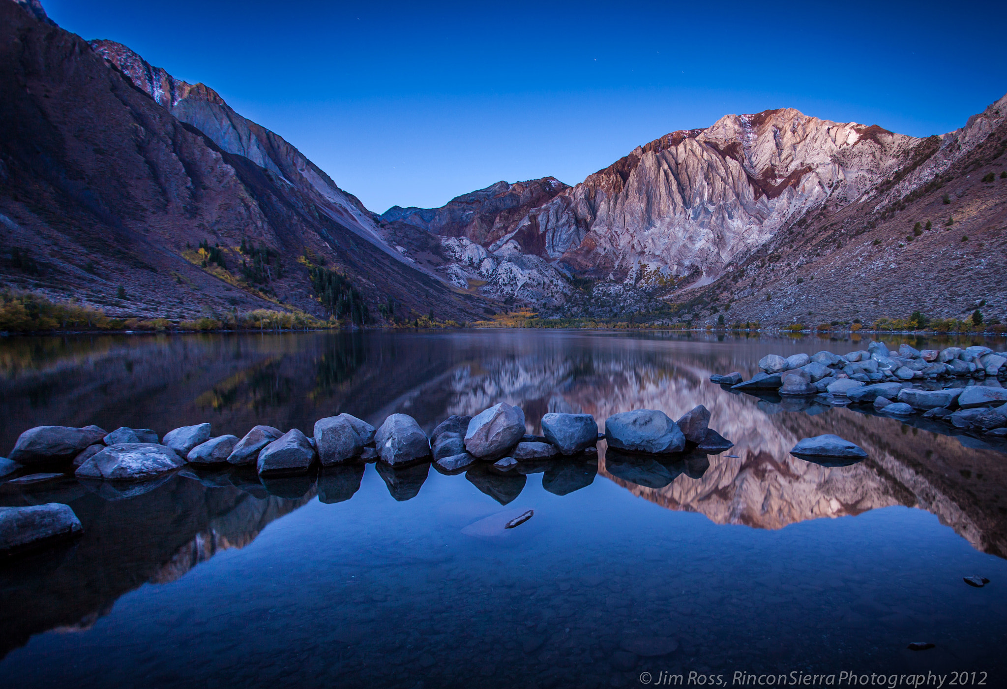 Photograph Civil Twilight at Convict Lake!!! by Jim Ross on 500px