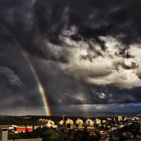 Rainbow in midst of the storm by Roy Rozanski (RoyPhotos)) on 500px.com