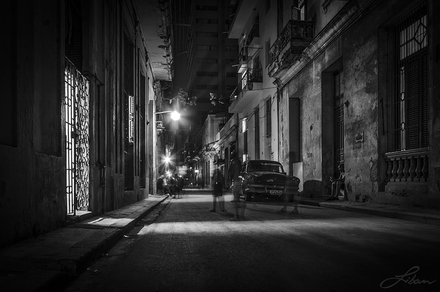 In the night by Liban Yusuf B&W on 500px.com