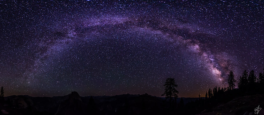 Milky Yosemite by Sergi Piñol on 500px.com