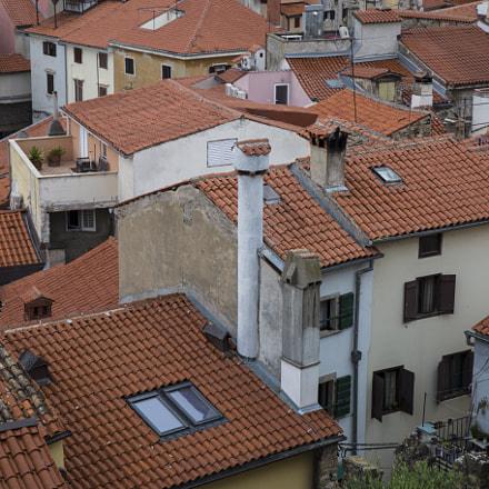 Piran rooftops