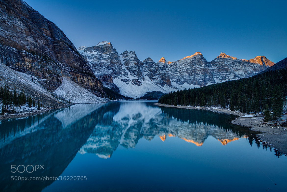Photograph Moraine Lake by James McGregor on 500px