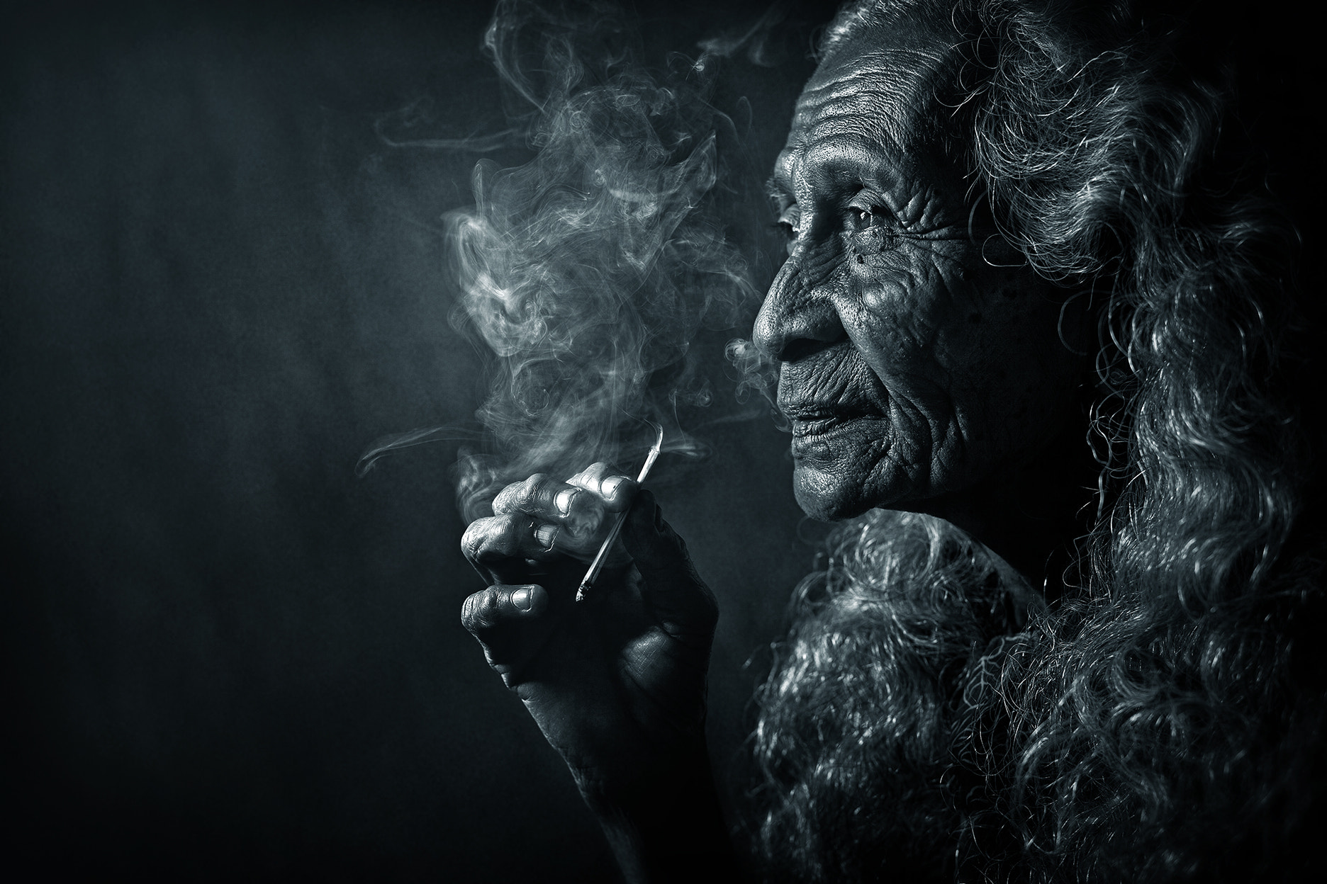 Photograph OLDER WOMEN AND CIGARETTES by abe less on 500px