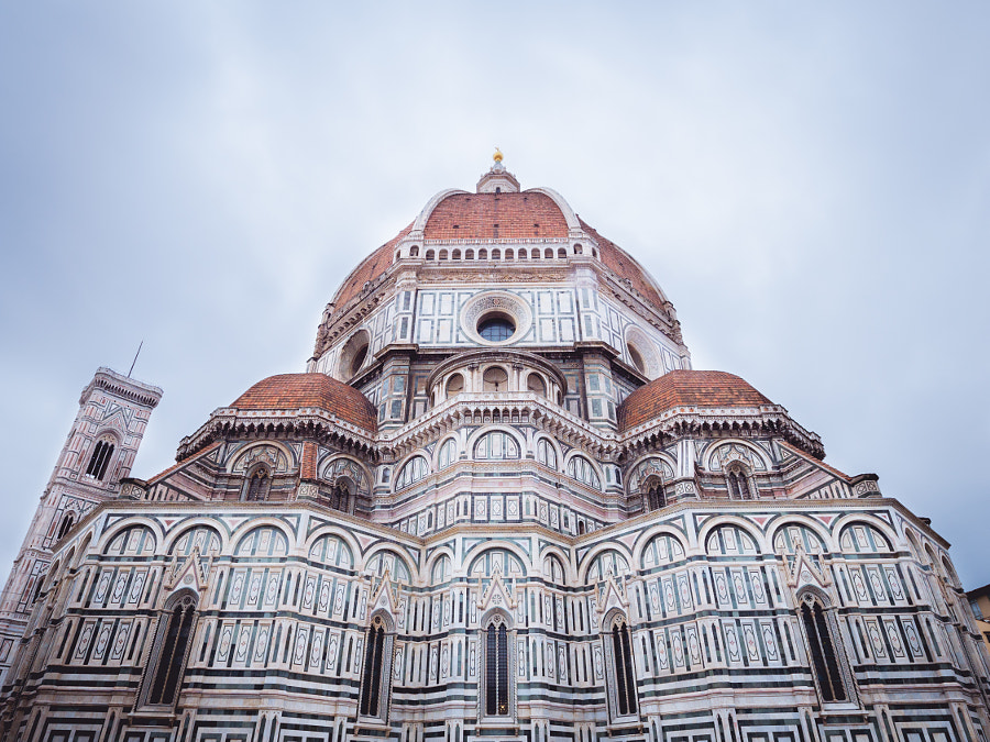 Florence Cathedral and Giotto's bell tower by alfredogarciatv / Alfredo Garcia Perez on 500px.com