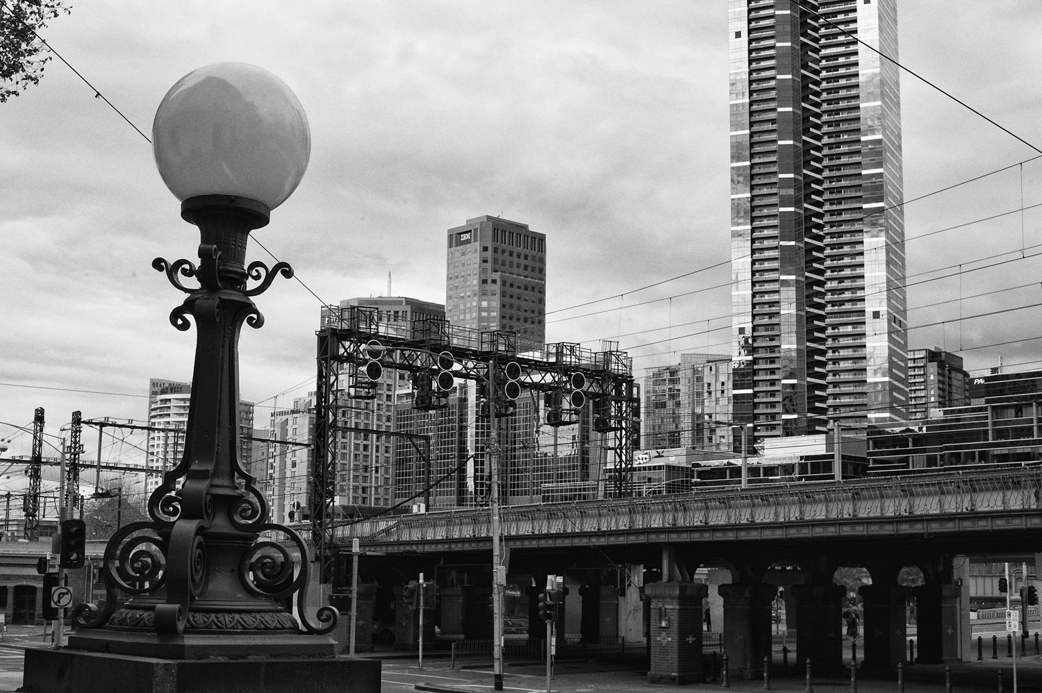 Photograph Melbourne Train Line by Mark  on 500px