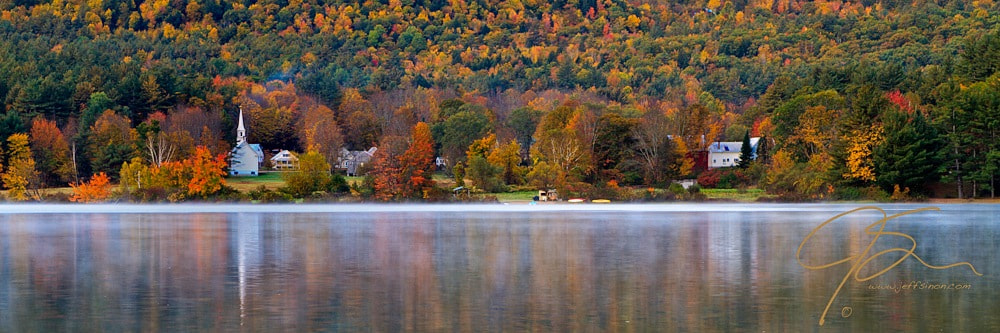 Photograph Church In The Foliage, Eaton, NH. by Jeff Sinon on 500px