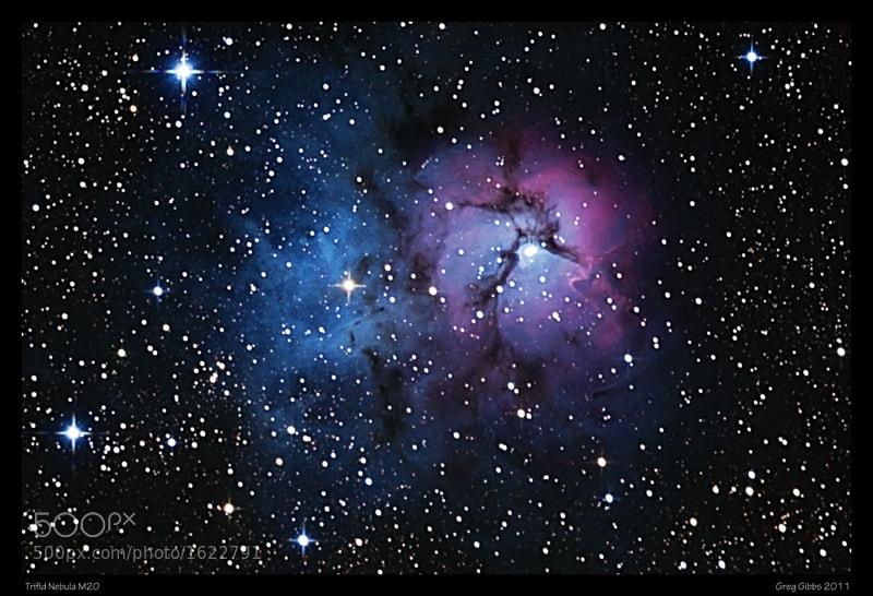 Photograph Trifid Nebula (M20) Re-visit by Greg Gibbs on 500px