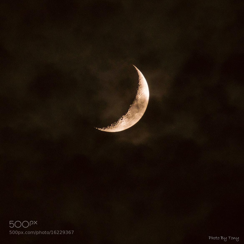 Photograph Lunar cloud by Tony Tu on 500px