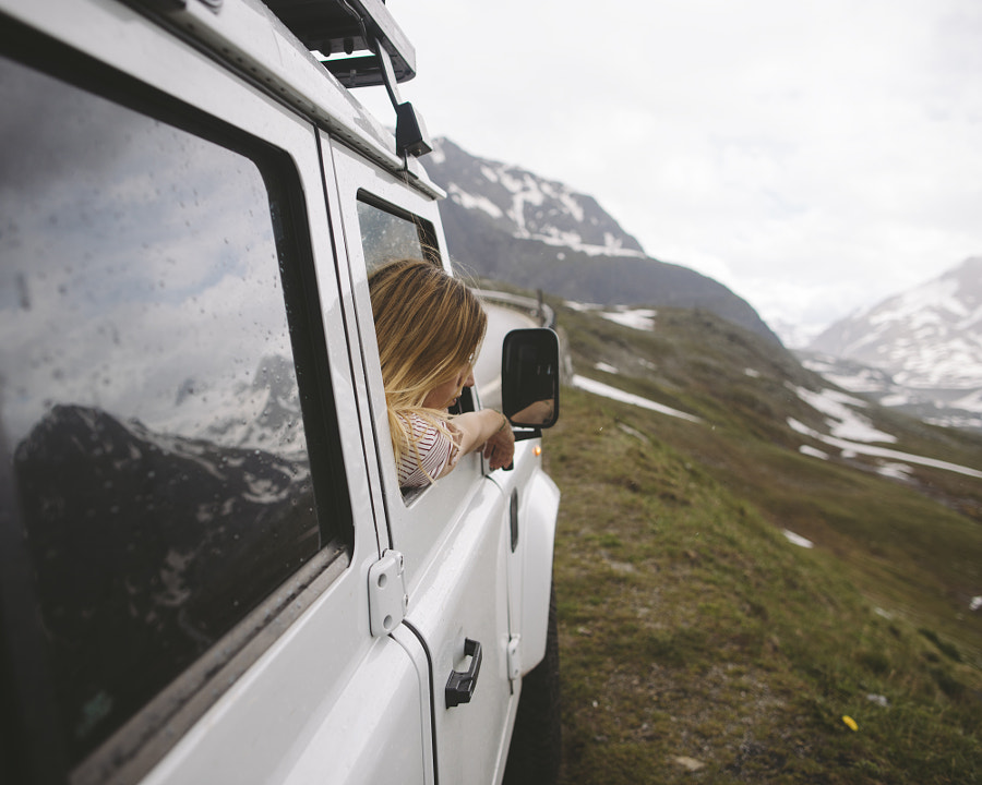 Andrea at Nunefenpass by Alex Strohl on 500px.com