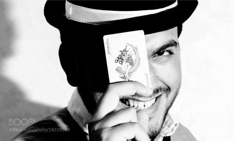 Photograph Joker Smile :) by jamil ghanayem on 500px