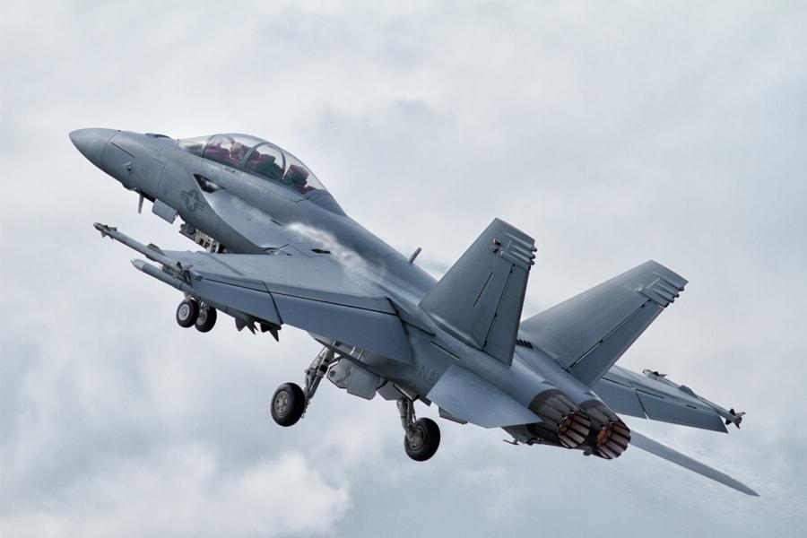 F-18 Takeoff