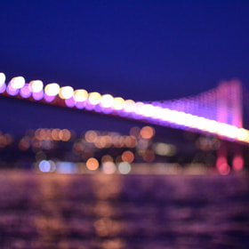bosphorus bridge bokeh by _okan  ___ (_okan)) on 500px.com