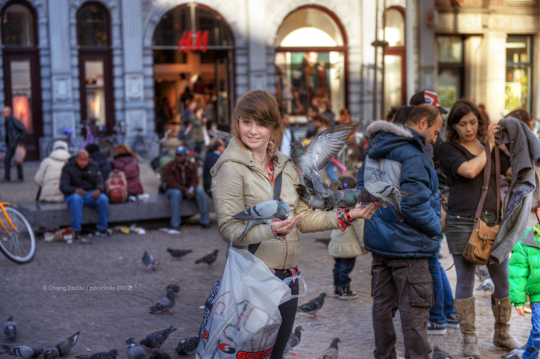 Photograph girl and pigeon by TaoTzu Chang on 500px