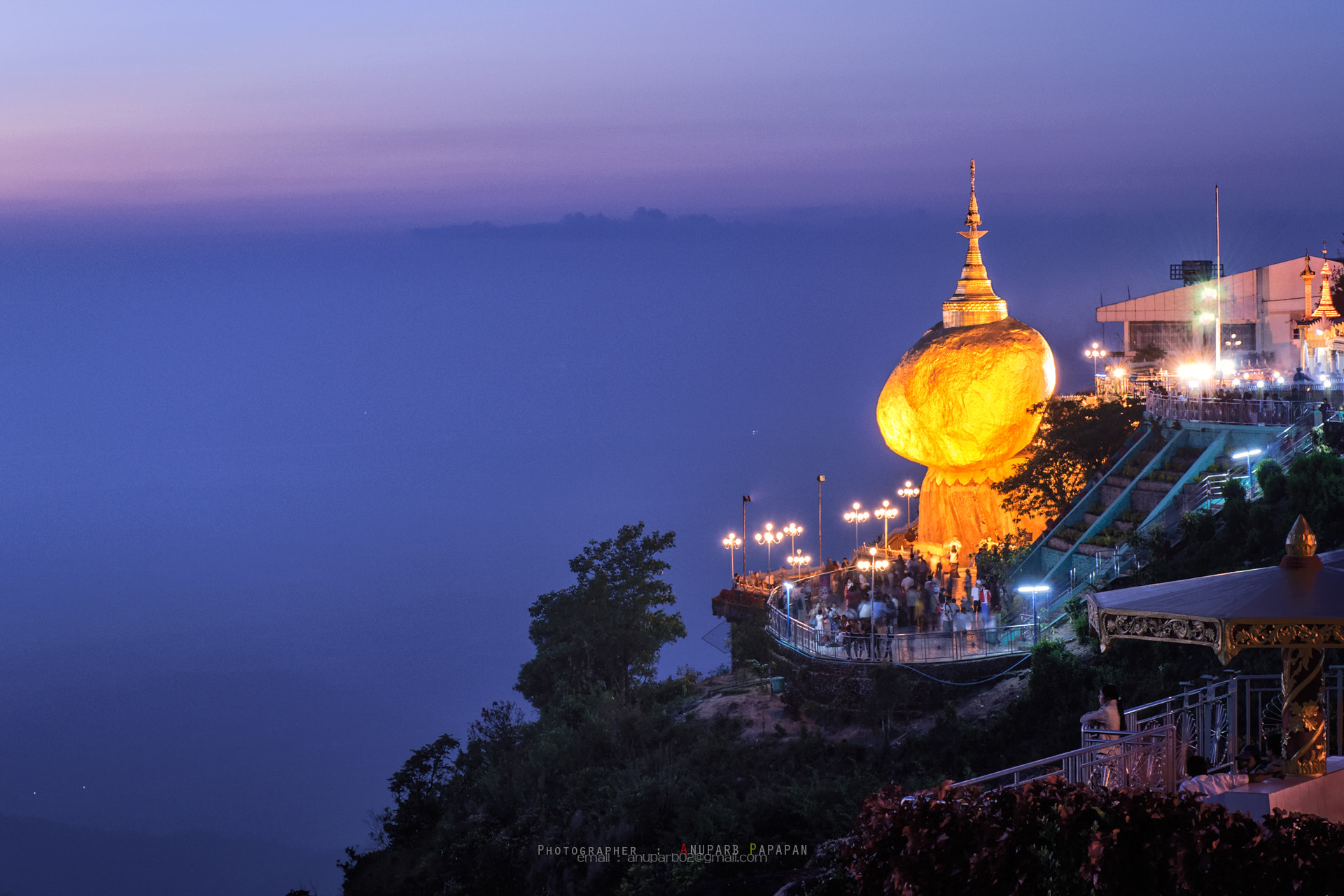 Photograph Golden Rock by Anuparb Papapan on 500px