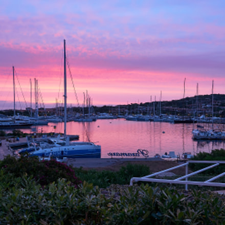 Sunrise over Porto Rotondo, Panasonic DMC-GM5, OLYMPUS M.9-18mm F4.0-5.6