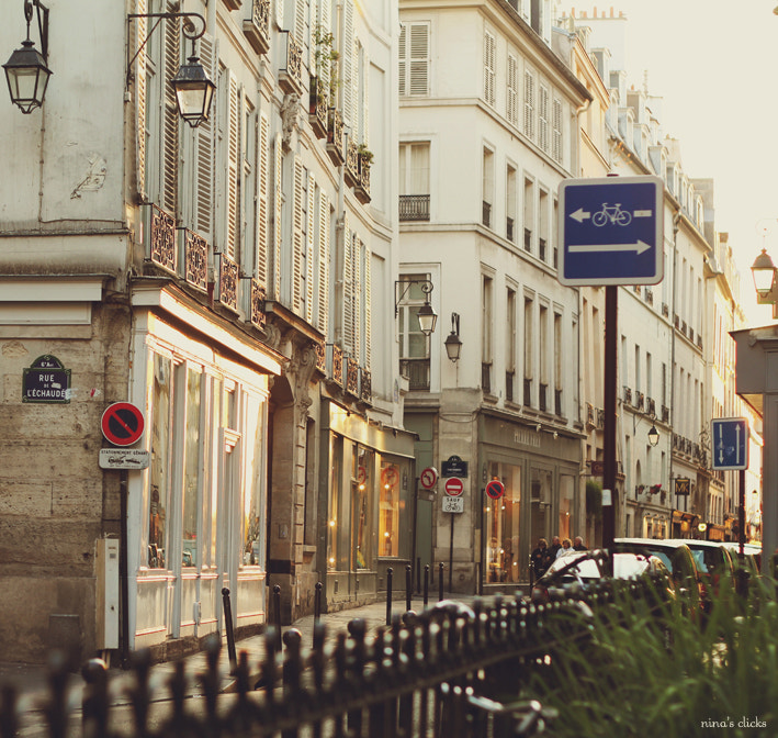 Photograph Paris Street by Nina's clicks on 500px